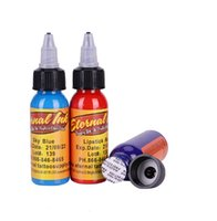 körperbemalungstinte großhandel-16 Farben 30 ml / flasche tattoo tinte permanent Body Arts Farbe Micro Pigment Augenbraue Eyeliner Lip Körper Tattoo Kunst Schönheit Werkzeuge