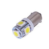 Wholesale marker lights online - 12v DC white bule red green yellow h6w BA9S SMD LED car lamp light Bulb