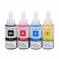 Wholesale printer refills - Dye Based Non OEM Refill Ink Kit for Epson L100 L110 L120 L132 L210 L222 L300 L312 L355 L350 L362 L366 L550 L555 L566 printer