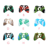 Wholesale gaming cases - Fashion Design color Sillicone Skin Soft Protective Joystick Gel case for Xbox One Gaming Controllers Cover Gamepad Game Console