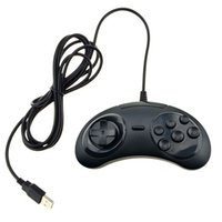 Wholesale joypad buttons for sale - PC MAC Retro Wired Buttons USB Classic Gamepad Game Controller Joypad Not for SEGA Genesis Mega Drive MD2 DHL FEDEX EMS