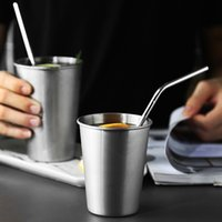 Wholesale Bend Homes - Stainless Steel Straws Reusable Straws Straight Bend for Bar Home for 20oz 8.5 Inch Cups (2 Straight 2 Bend 1brush)