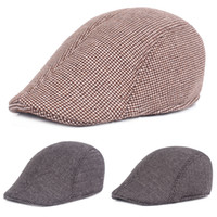 1c51259d77a27 Mens Vintage Warm Cotton Driving Golf Cap Casual Outdoor Sun Newsboy Beret  Hat HATCS0329