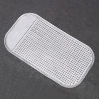 pavé numérique achat en gros de-Tableau de bord de voiture tapis collant pour téléphone portable GPS porte-clés porte gel de silicone antidérapant tapis anti-glissement tapis auto accessoires intérieurs