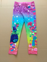Wholesale Ids Clothing - Newest Kids Pants,Cartoon Girls Tights Leggings Children Long Pants KBaby ids Clothing 10 p l