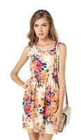 Discount dresses shipped china - Newest fashion Women Casual Dress Plus Size Cheap China Dress 17 Designs Women Clothing Sleeveless Summe Dress Free Shipping L19