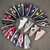 Wholesale gold letter d - HOT NEW Unisex women men's N letter Sport Shoes Sneakers Running Shoes n Couple Men Women Sneakers running shoes size eur 36-44