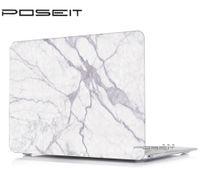 ordinateur portable macbook blanc achat en gros de-NOUVEAU Motif en marbre coloré Housse rigide pour Macbook White 13