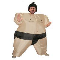 ingrosso capitano barnacles-Costumi gonfiabile Sumo costume adulto Cintura Bambini di Halloween della mascotte di vestito dal partito per il 90 a 190 cm Uomo Donna Bambino LJ-014