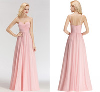 Wholesale cheap custom wedding dresses online - Sexy Real Pictures Pink New Arrival Cheap Bridesmaid Dresses Spaghetti Straps Backless Wedding Guest Prom Evening Wear Dress BM0046