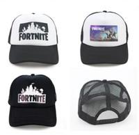 624069f7c39 Fortnite Trucker Cap Hat Game Fortnight Fans Mesh Caps Summer Breathable  Baseball Net Cap HipHop Hat for Men Women Outdoor Sun Quick-dry Hat