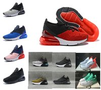 Wholesale red hot nights - 2018 latest 270 talent hot punching three heavy black mid night Navy women's men's men's men's casual shoes sneakers36-45