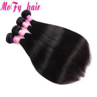 renk 32 saç örgüsü toptan satış-Perulu Malezya Hint Virgin İnsan Saç Örgüleri 4 Demetleri Düz Saç Vücut Su Gevşek Derin Dalga Kinky Kıvırcık Doğal Renk Ücretsiz Gemi