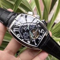 ingrosso branding di orologi-Gli uomini di qualità AAA orologi di lusso Tourbillon orologio automatico Dive orologio sportivo da uomo Tag marca Mens orologi da polso per uomo rejoles regalo