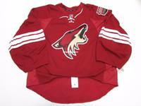 phoenix hockey jersey 2018 - Wholesale customization PHOENIX COYOTES HOME JERSEY GOALIE CUT Mens Stitched Personalized hockey Jerseys