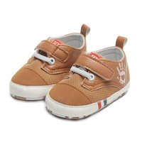 Wholesale wholesale baby moccasins online - Baby boy girl infant toddler crib shoes Skid Proof moccasins Booties for babies fashion designer first walker spring autumn