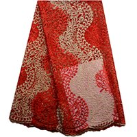 Wholesale wedding guipure - New African Lace Fabric 2016.High Quality French Tulle Lace Fabric For Wedding Dress.Wholesale Nigerian Guipure Lace Fabric