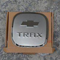 Wholesale chevrolet emblems badges - High Quality For Chevrolet 2014-2015 year Trax ABS PVC or Metal Fuel Tank Cap Gas Cap Tank Cover logo badge Emblem Sticker