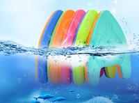 Wholesale swimming kickboard online - Swimming Board Float A Shap Swim Trainer Foam Kickboard for Kids Adults Color Random