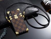maleável lg g2 venda por atacado-Para iphone xs max xr x case clássico novo telefone de impressão case capa para iphone 7 7 plus 8 8 plus 6 6 s 6 mais tpu silicone macio case com cordão