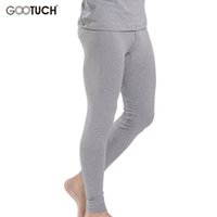 Wholesale mens thermal winter underwear - Wholesale-High Quality Mens Thermal Underwear Winter Modal Long Johns Pijama Pants 4XL 6XL 5XL Plus Size Men Warm Pants Gootuch 023