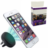 Wholesale magnets iphone resale online - Car Mount Air Vent Magnetic Universal Car Mount Phone Holder for iPhone X Plus One Step Mounting Reinforced Magnet Easier Safer Driving