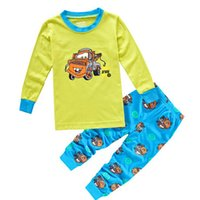 Wholesale Toddler Pijamas - Kids Pijamas Sleepwear Boys Pyjamas Kids Pajamas Sets 90-130cm Clothes Nightwear Homewear Toddler Clothes Garcon Suits
