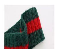 600696473e38 écharpes en laine rouge homme achat en gros de-Designer 100% laine rayé  Bandeaux