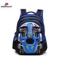 детские автокресла оптовых-Водонепроницаемый начальной школы рюкзаки дети 3D автомобиль школьные сумки мальчики детский сад рюкзаки школьные сумки дети ранец Mochila Infantil