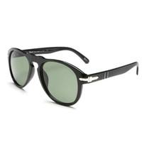 klassische italienische mode großhandel-Klassische neue italienische Design-Luxus-Sonnenbrillen 649 Gläser UV400 UV-Schutz Mode Laufsteg unerlässlich