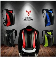 Wholesale waterproof motorcycle backpacks - MOTOCENTRIC Hot 2018 motorcycle backpack Moto bag Waterproof shoulders reflective helmet bag motorcycle racing package 5