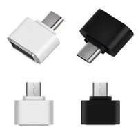 Wholesale micro usb cables cell phone for sale – best Universal Micro USB To USB OTG Mini Adapter Converter for Cell phones accessories Android Drop shipping