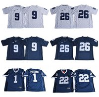 Wholesale Red Tens - NCAA Penn State Nittany Lions College Football 26 Saquon Barkley 1 Joe Paterno 9 Trace McSorley 22 Akeel Lynch BIG Ten Football Jerseys