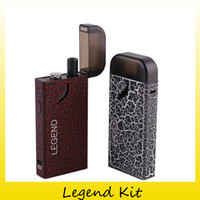 Wholesale Wholesale Legends - 100% Original Industry Legend Vape Starter Kit With 1300mAh Battery Vapor All-In-One Box Mod For Authentic M30 Atomizer 0209661