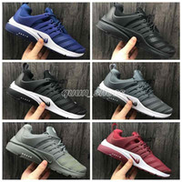 Wholesale Fashion Utility - 2018 Autumn Winter Airs Presto Low Utility Running Shoes for Fashion Prestos Ultra Breathe Jogging Sports Sneakers Size 40-45 Free Shipping