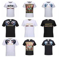 Wholesale T Shirts Styles For Men - Free shipping 2018 High quality cotton new O-neck short sleeve t-shirt brand men T-shirts casual style for sport men T-shirts