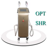 Wholesale plus equipment - Vertical E-Light IPL RF SHR Hair Removal Equipment With Cooling Plus System opt shr home laser hair removal