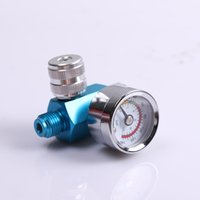 Wholesale SAMER lanyin04 Precision pressure regulator with display table suitable for spray gun air inlet G1 air outlet G1