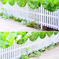 Recinzione In Plastica Per Giardino.Vendita All Ingrosso Di Sconti Recinzione In Plastica Bianca In