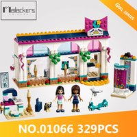 Wholesale accessories for girls stores for sale - Friends Series Andrea s Accessories Store Set Building Blocks Compatible Legoing Girls Toys For Children Gifts