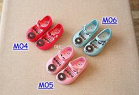 Wholesale Sandals For Plastic - INS Summer girls Sandals Clogs Cute Girls shoes Children Mitch Baby Shoes For Girl shoes size EU24-29 mini girls