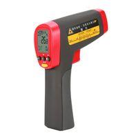 pistola infrarroja temperatura contacto láser al por mayor-UNI-T UT302D UT302C UT302A Medidor de infrarrojos Termómetro digital Sin contacto IR Temperatura láser Rango de medidor de pistola -32 ~ 1050 grados
