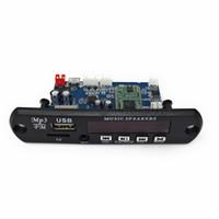 ingrosso decoder digitale usb-Scheda di decodifica MP3 5V / 12V APP Control Bluetooth 4.0 Scheda di memoria TF Card USB FM APE Scheda di decodifica digitale LED rosso