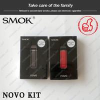 Wholesale smok e cig kit resale online - Original SMOK Novo Pod Starter Kit mAh Portable Vape E Cig Kit with ml dhl free