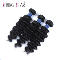 Wholesale dhgate indian remy hair for sale - deep bundles shining star a grade remy human hair weft on dhgate fashion deep wave hair bundles