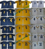 Wholesale yellow peppers - 2018 Michigan Wolverines Rashan Gary Desmond Howard Tom Brady Jim Harbaugh Charles Woodson Jabrill Peppers College Football Jersey