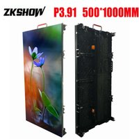 Wholesale advertising panels for sale - Caixa Som Outdoor P3 LED Screen Panel SMD in1 mm Cabinet Die Casting Aluminum Rental For Advertising Signs With Flightcase