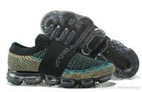 Wholesale popular training - 2018 new Women Black vapormax Training Sneakers,Discount Cheap Basketball Boots,Popular Runner Sports Running Shoes