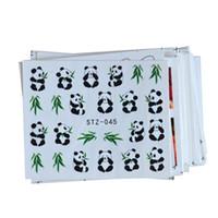 karikatür çivi çıkartmaları toptan satış-50 yaprak Karışık 50 Tasarımlar Nail Art Su Transferi Sticker YENI DIY Karikatür / Çiçek Güzellik Çıkartmaları Nail Art Süslemeleri TR50