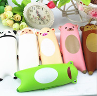 Wholesale Panda Bears Toys - Cartoon Panda Squishy Toys Pig Frog Slow Rising Squeeze Jumbo Kids Gift Stress Reliever Kawaii Animal Panda Bear Squishy KKA4204